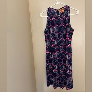 Tory Burch patterned dress size small